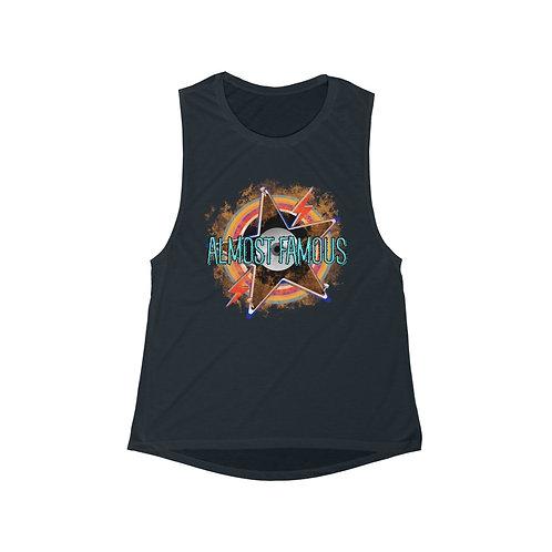 Women's Tank Top | Sleeveless Shirt | Rocker Graphic Tee | Retro Girls Top