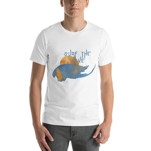 Surf Short-Sleeve T-Shirt Surf The Wave T Unisex Bella + Canvas