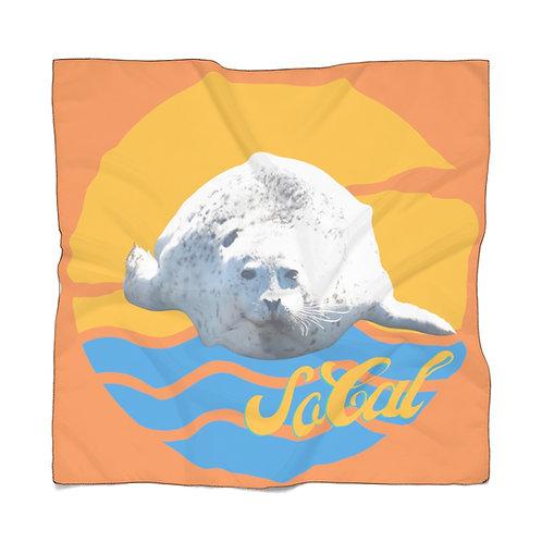 So Cal Orange Seal Scarf Poly