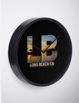 Clock Long Beach Logo And Photography By