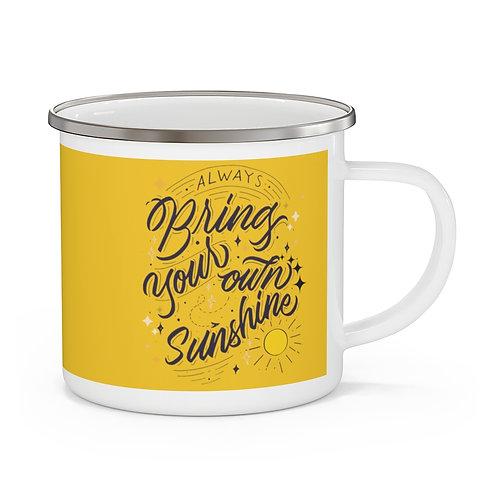 Enamel Campfire Mug | Always Bring Your Own Sunshine