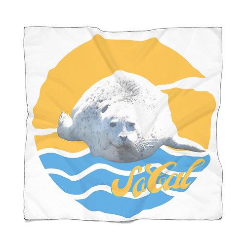 So Cal White Seal | Summer Chiffon Scarf | San Pedro California White Seal