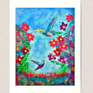 Painting Hummingbirds Review Concetta El