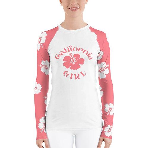 Rash Guard Women's Top Pink | California Girl