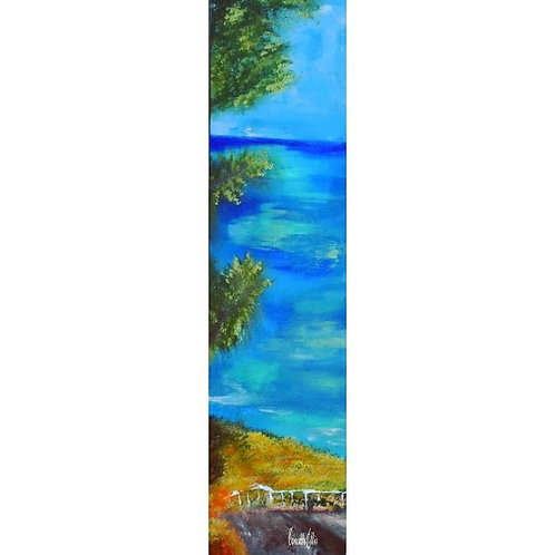 Original Painting Path To Royal Palms Beach San Pedro Ca