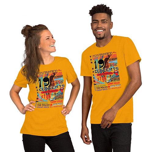 1980's Vintage Look Rock Band Concert Short-Sleeve T-Shirt | Bella + Canvas