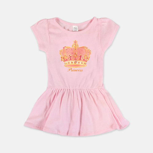 Ballerina Dress Baby Girl White And Pink