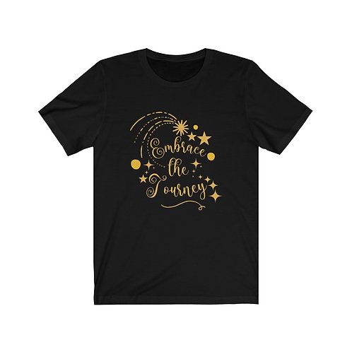 Positive Quote T-Shirts | Embrace The Journey | Women's Inspirational Tees