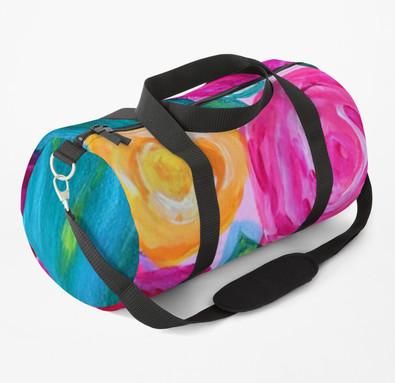 Floral Duffle Bag By Concetta Ellis Shop