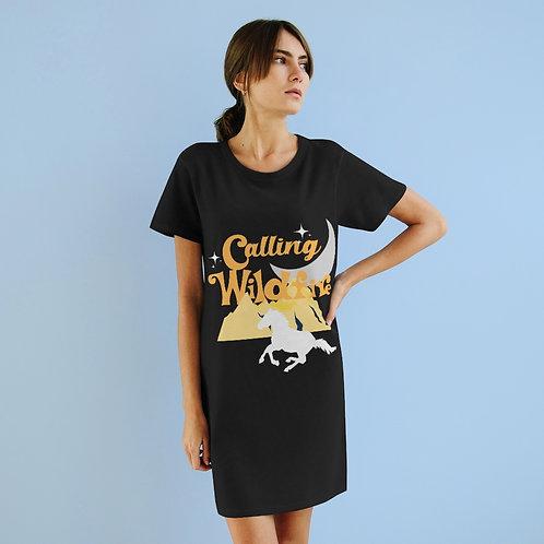 Organic T-Shirt Dress | Calling Wildfire