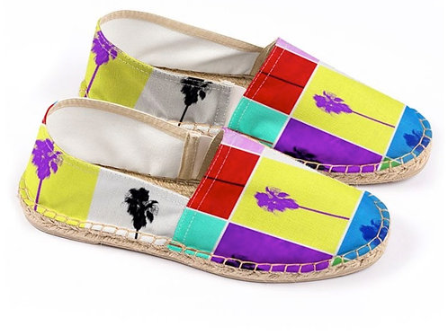 Espadrilles Pop Art Palm Trees