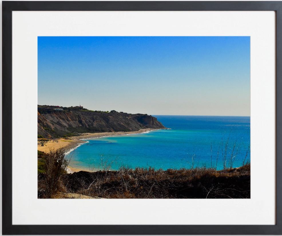 Portuguese Bend Cove Beach is below the South Bay Archery Club in Rancho Palos Verdes, CA.