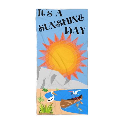 Beach Towel It's A Sunshine Day