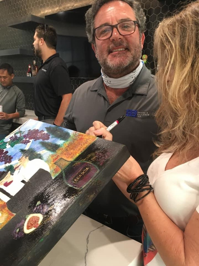 PAINTING 3 BBI BRASCIA BUILDERS CEO MIKE