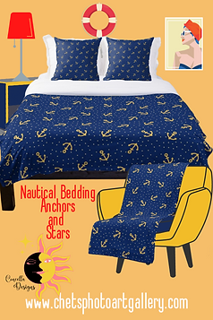Anchors and Stars Bedding Concetta www.c