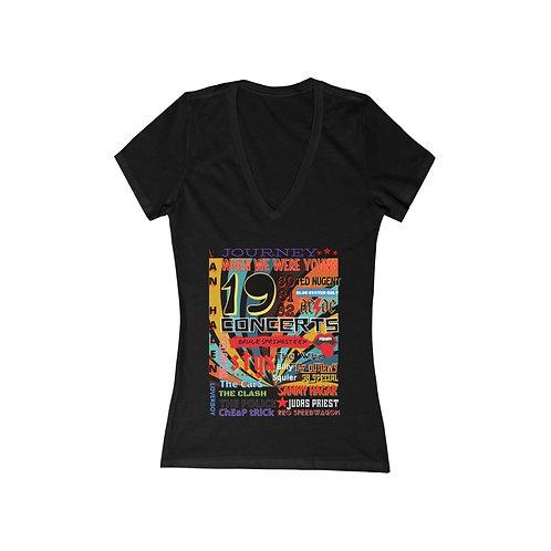 Ladies V-Neck Tee | Band T-Shirt | 80s Band Tee | Rock N Roll T-Shirt |