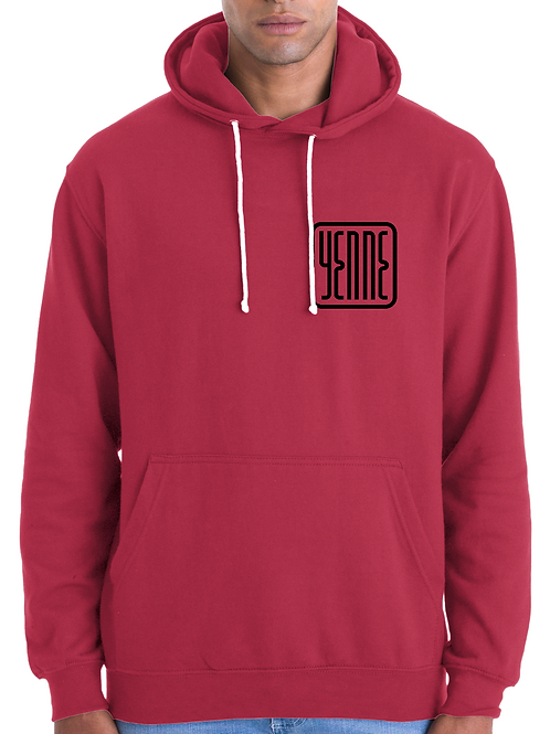 Yenne - Hoodies Rouge (Homme)