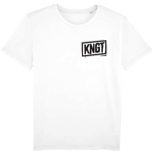 T-shirt - KNGT - Blanc 2 (Unisex)