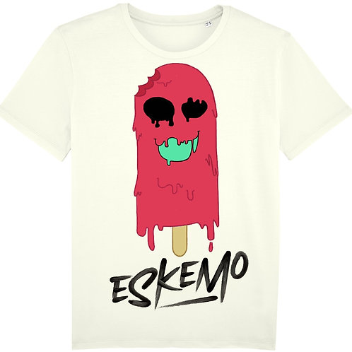 T-shirt - Eskemo Blanc - Red (Homme)