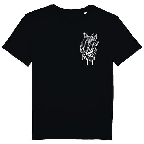 T-shirt - KNGT - Noir (Unisex)