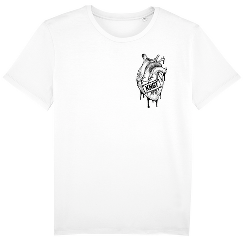 T-shirt - KNGT - Blanc (Unisex)