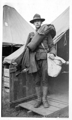 World War I veterans' photos