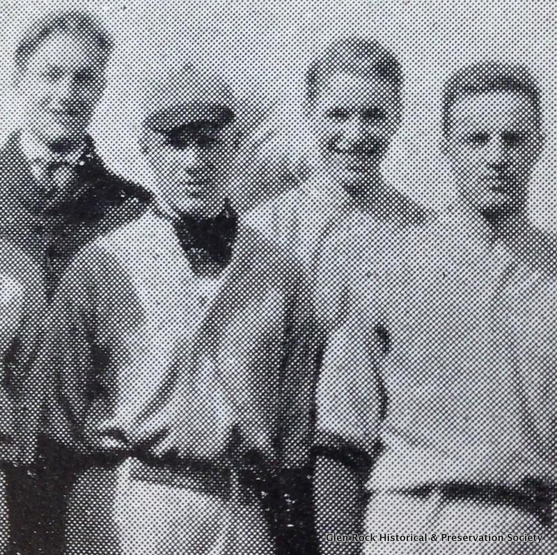 Ralph Van Orden (2nd from left)