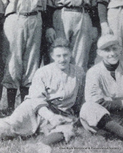 Maurice Clark (seated, left)