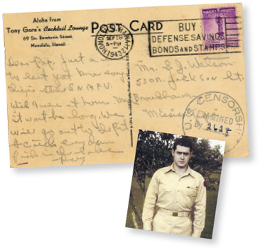 War Letters & Stories