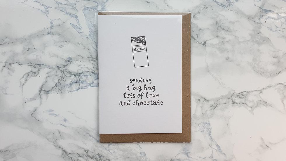 Chocolate Gift Card