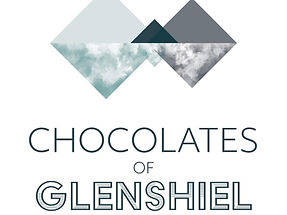 Chocolates of Glenshiel Logo Mountains Scotland Highlands