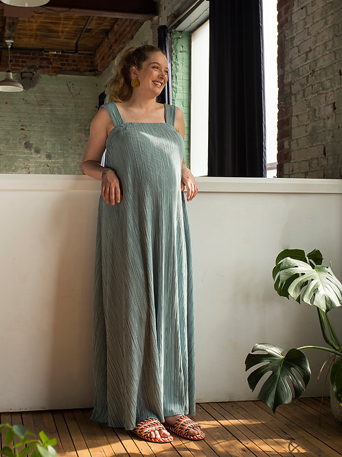 IMPERATRIZ robe (Aqua)