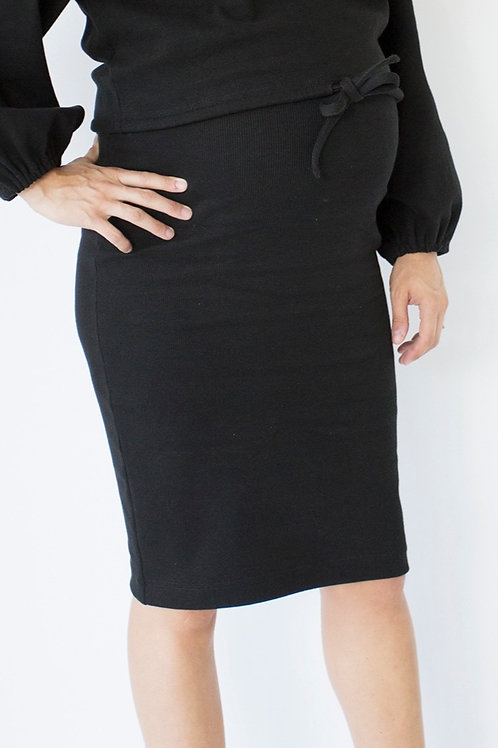 PAPINEAU jupe (Noire)