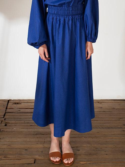 BELÉM jupe (Bleu)