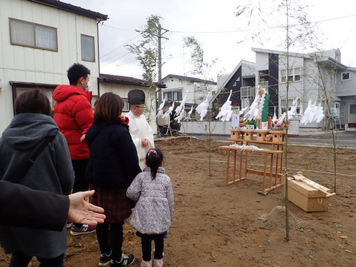 八戸市桜ケ丘 板倉の家着工!