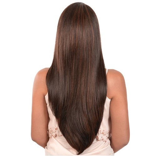 L Daze 27 Lace Hi Temp Super Long Straight Full Wig Motown Tress