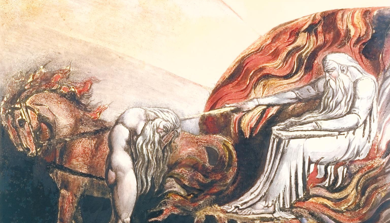 detail from God Judging Adam, 1795.