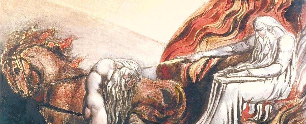detail from God Judging Adam, 1795.