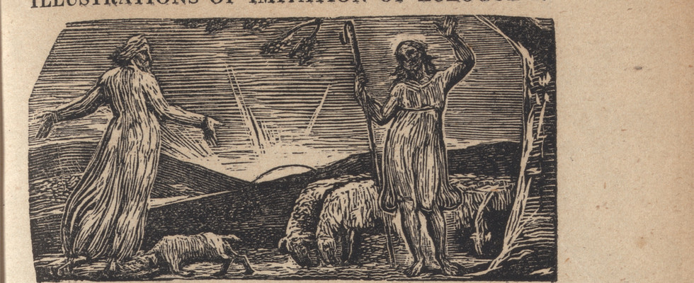 detail from The Pastorals of Virgil, 1821.