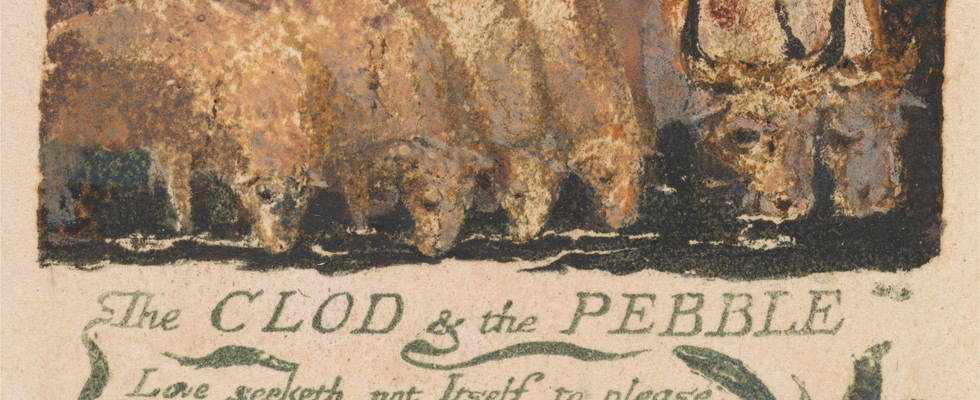 detail from Songs of Experience, plate 36, 1794.