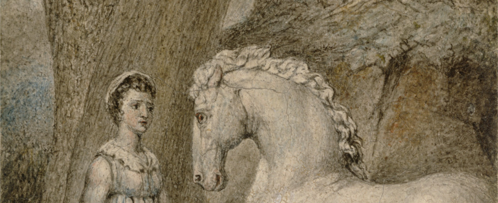 detail from The Horse, c. 1805.