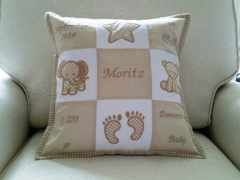 Memory Kissen für Moritz