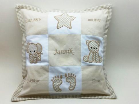 Memory Kissen für Jannik