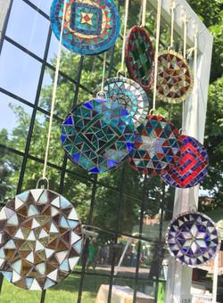 Glass Mandalas