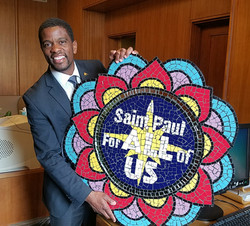 We love our great St. Paul Mayor!