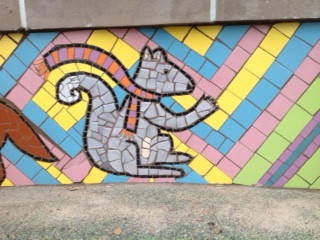 Cayuga Park Mosaic (Detail)