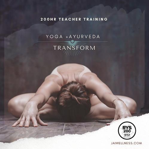 200HR Ayurveda and Yoga Teacher Training