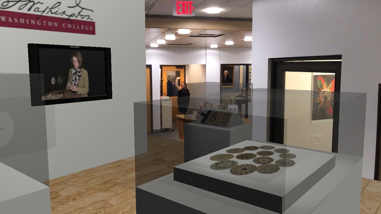 View from WCPocketMuseum Prototype