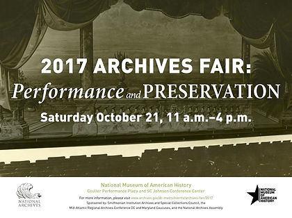 2017 Archives Fair Poster