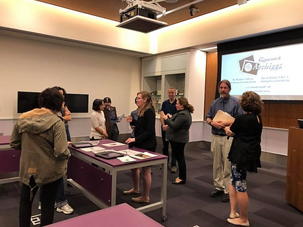 The team presents our work at the Smithsonan Musum of American History during the 2017 Archives Fair